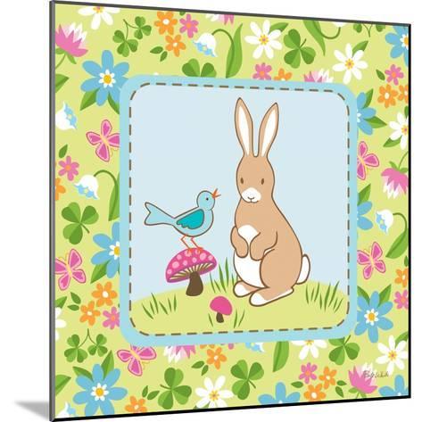 Meadow Bunny II-Betz White-Mounted Art Print