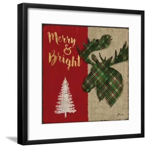 Tartan Holiday Lodge II-Paul Brent-Framed Art Print