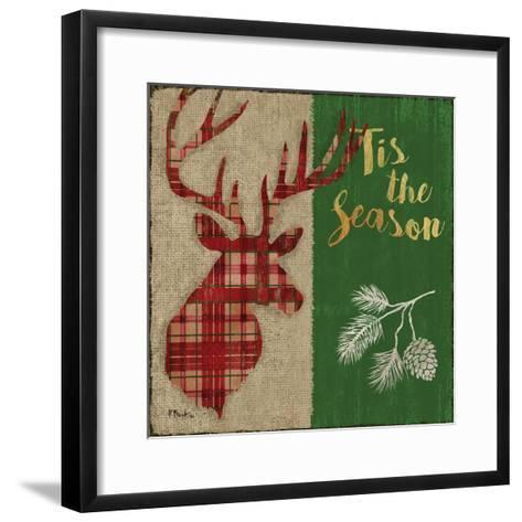 Tartan Holiday Lodge I-Paul Brent-Framed Art Print