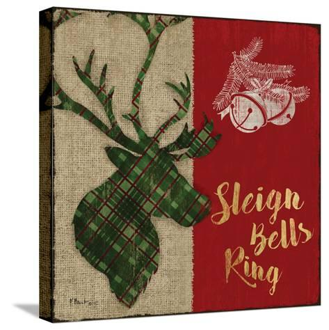 Tartan Holiday Lodge III-Paul Brent-Stretched Canvas Print