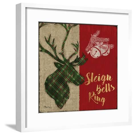 Tartan Holiday Lodge III-Paul Brent-Framed Art Print
