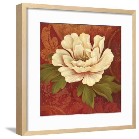 Il Ballo Rosso Square II-Pamela Gladding-Framed Art Print