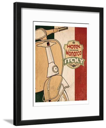 Hotel Italy-Jason Giacopelli-Framed Art Print