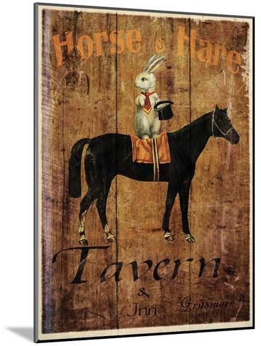 Horse & Hare Tavern-Jason Giacopelli-Mounted Art Print