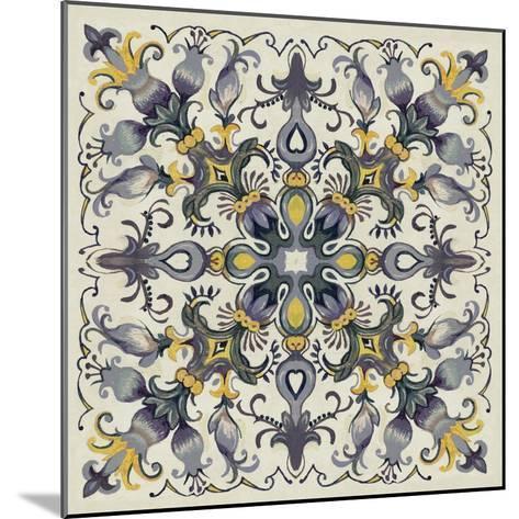 Tile Patterns I-Margaret Ferry-Mounted Art Print