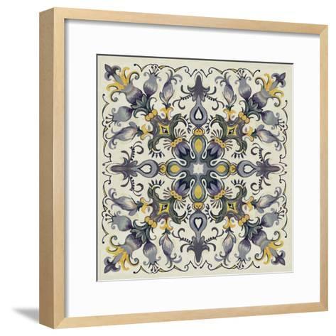Tile Patterns I-Margaret Ferry-Framed Art Print