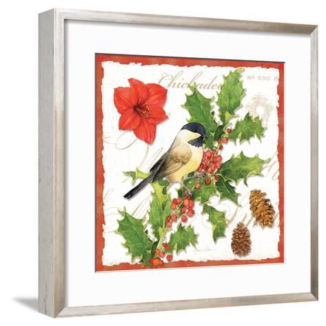 Holiday Birds I-Julie Paton-Framed Art Print
