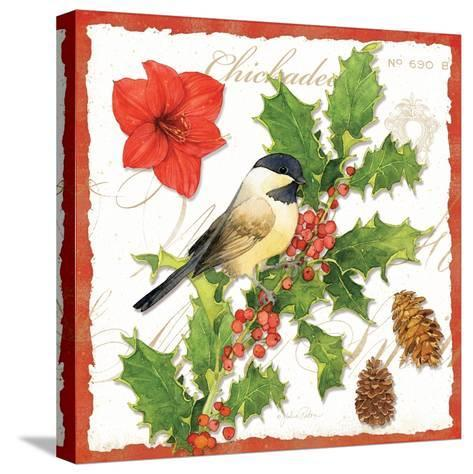 Holiday Birds I-Julie Paton-Stretched Canvas Print