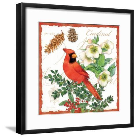 Holiday Birds II-Julie Paton-Framed Art Print