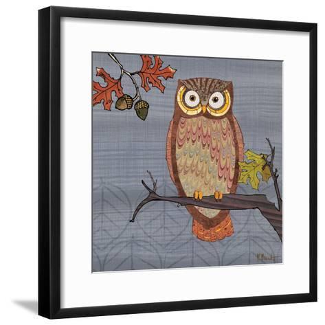 Awesome Owls II-Paul Brent-Framed Art Print