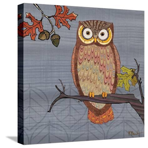 Awesome Owls II-Paul Brent-Stretched Canvas Print