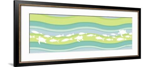 Migration II-Patty Young-Framed Art Print