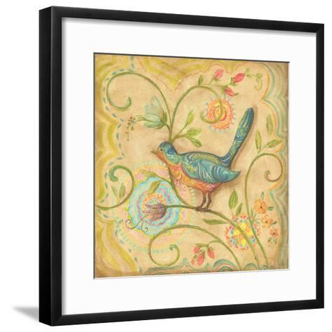 Springtime Birds II-Kate McRostie-Framed Art Print