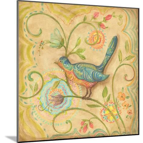 Springtime Birds II-Kate McRostie-Mounted Art Print