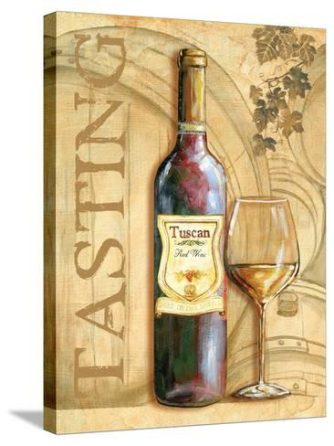 Wine II-Gregory Gorham-Stretched Canvas Print