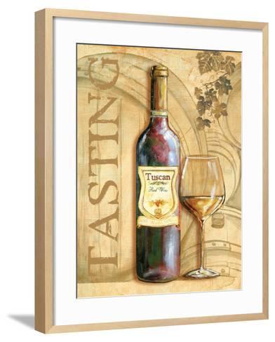 Wine II-Gregory Gorham-Framed Art Print