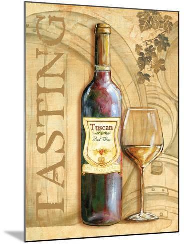 Wine II-Gregory Gorham-Mounted Art Print