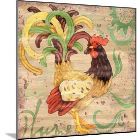 Royale Rooster III-Paul Brent-Mounted Art Print