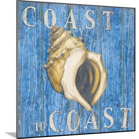 Coastal USA Conch-Paul Brent-Mounted Art Print