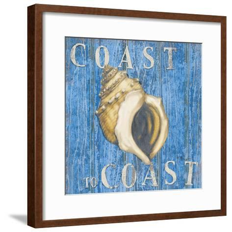 Coastal USA Conch-Paul Brent-Framed Art Print