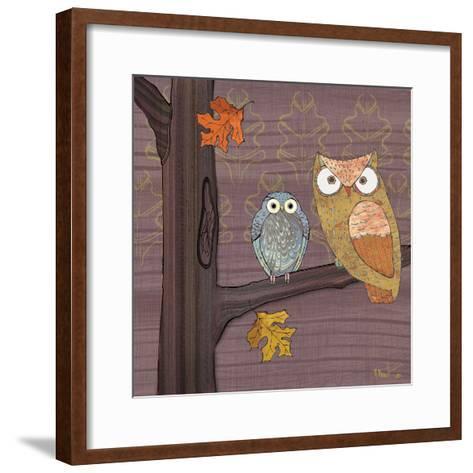 Awesome Owls IV-Paul Brent-Framed Art Print
