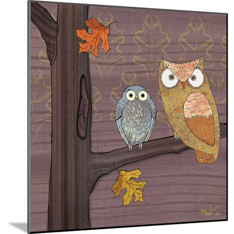 Awesome Owls IV-Paul Brent-Mounted Art Print