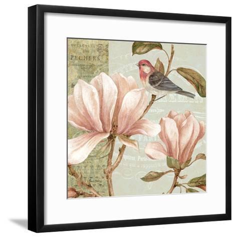 Magnolia Collage I-Pamela Gladding-Framed Art Print