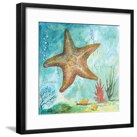 Marine Life Motif II-Gregory Gorham-Framed Art Print