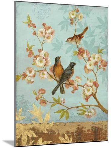 Robins & Blooms-Pamela Gladding-Mounted Art Print