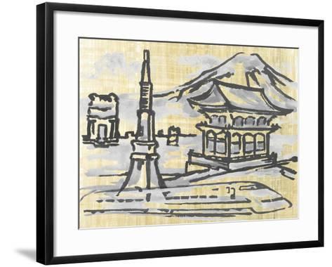Cities IV-Margaret Ferry-Framed Art Print