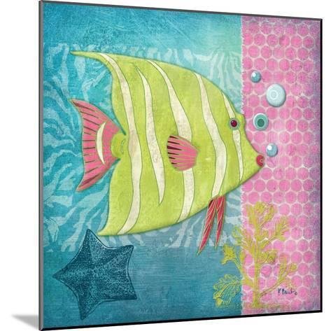 Fantasy Reef II-Paul Brent-Mounted Art Print