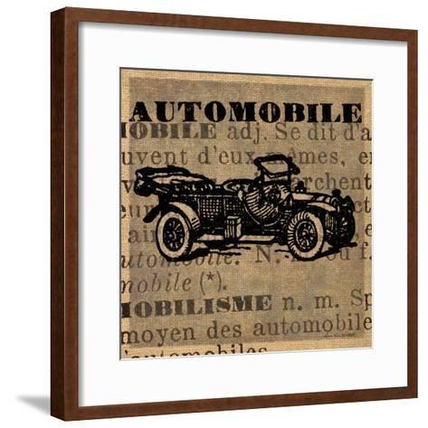 Automobile-Lisa Ven Vertloh-Framed Art Print