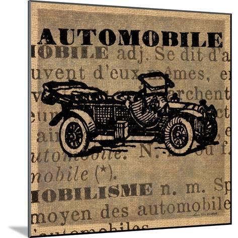 Automobile-Lisa Ven Vertloh-Mounted Art Print