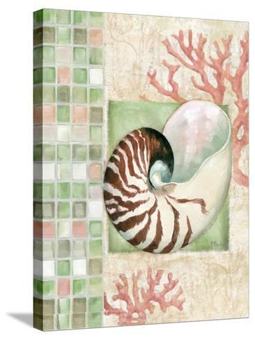 Mosaic Shell Collage I-Paul Brent-Stretched Canvas Print