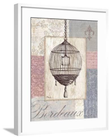 Boutique de Paris III-Paul Brent-Framed Art Print