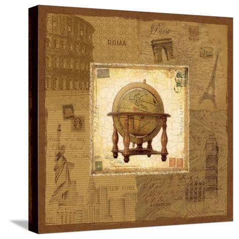 Globe II-Pela Design-Stretched Canvas Print