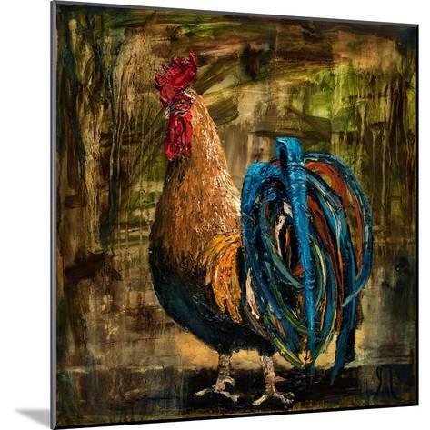 Young Rooster II-Jodi Monahan-Mounted Art Print