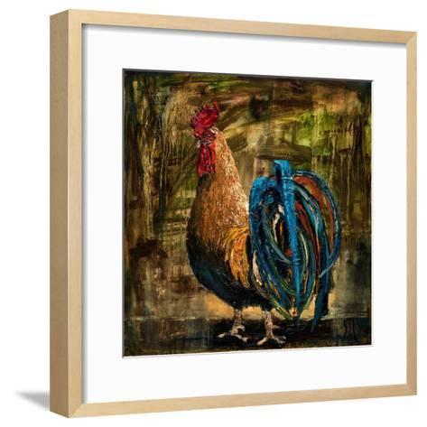 Young Rooster II-Jodi Monahan-Framed Art Print