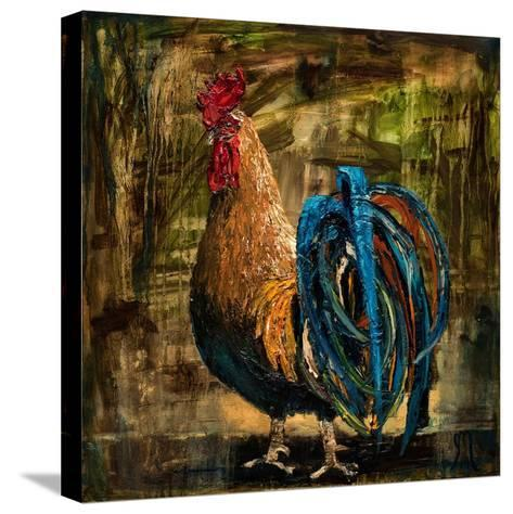 Young Rooster II-Jodi Monahan-Stretched Canvas Print