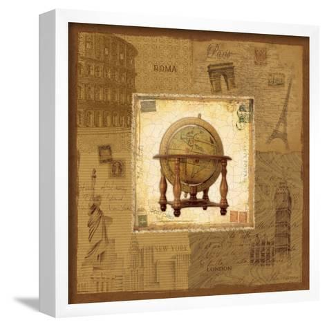 Globe II-Pela Design-Framed Art Print