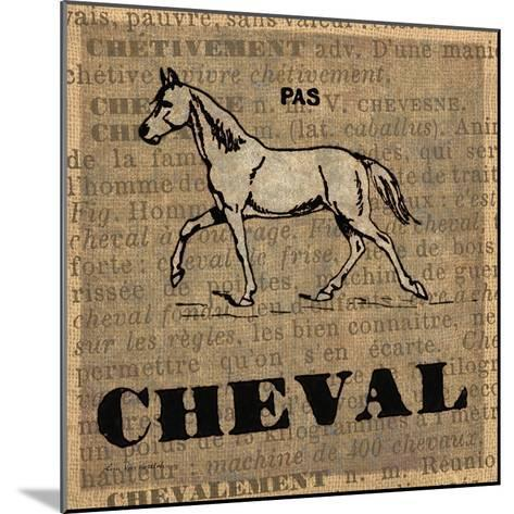 Cheval-Lisa Ven Vertloh-Mounted Art Print