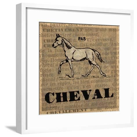 Cheval-Lisa Ven Vertloh-Framed Art Print