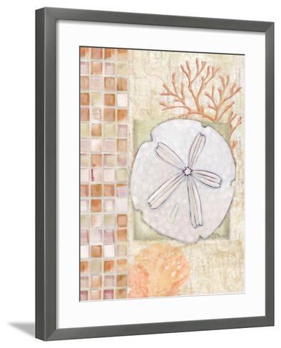 Mosaic Shell Collage IV-Paul Brent-Framed Art Print