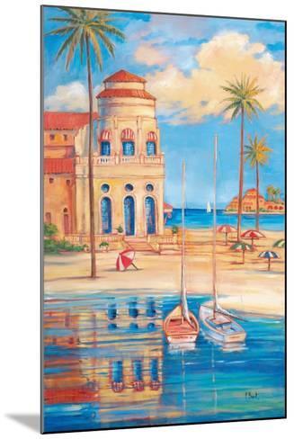 Beach Club I-Paul Brent-Mounted Art Print