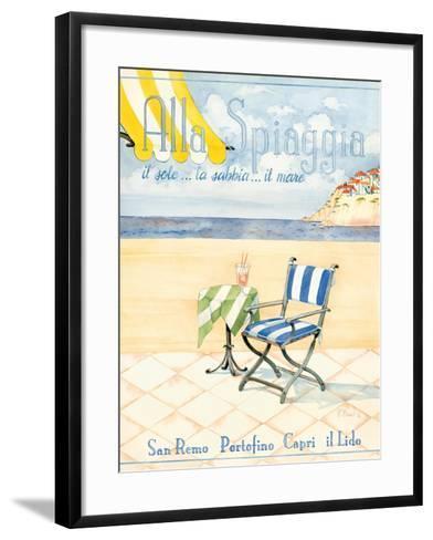 Alla Spiaggia-Paul Brent-Framed Art Print