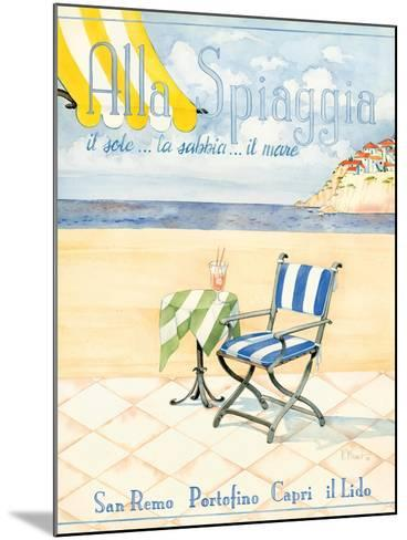Alla Spiaggia-Paul Brent-Mounted Art Print