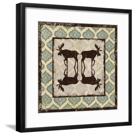 Modern Lodge Azure II-Paul Brent-Framed Art Print