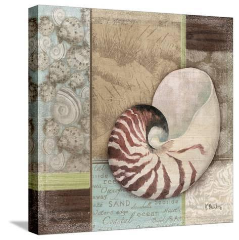 Santa Rosa Shell II-Paul Brent-Stretched Canvas Print