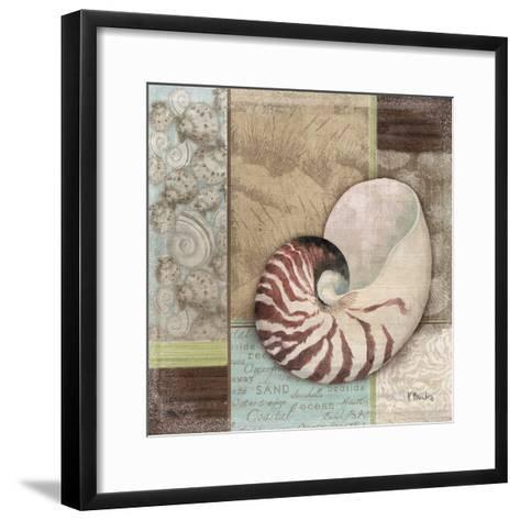 Santa Rosa Shell II-Paul Brent-Framed Art Print