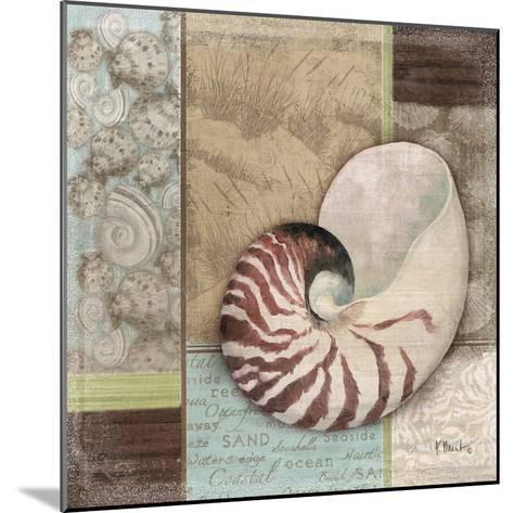 Santa Rosa Shell II-Paul Brent-Mounted Art Print